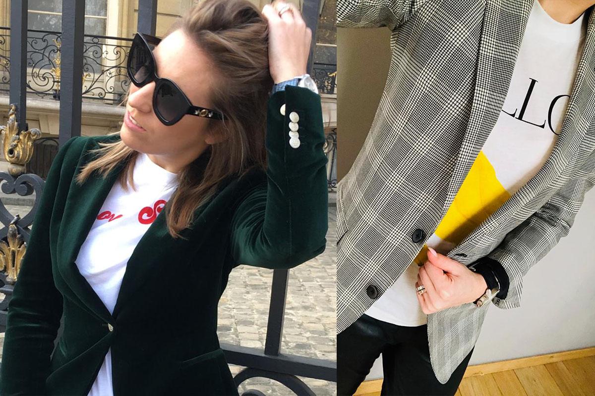 Kledij op maat voor dames, blazers, bloesje, broek